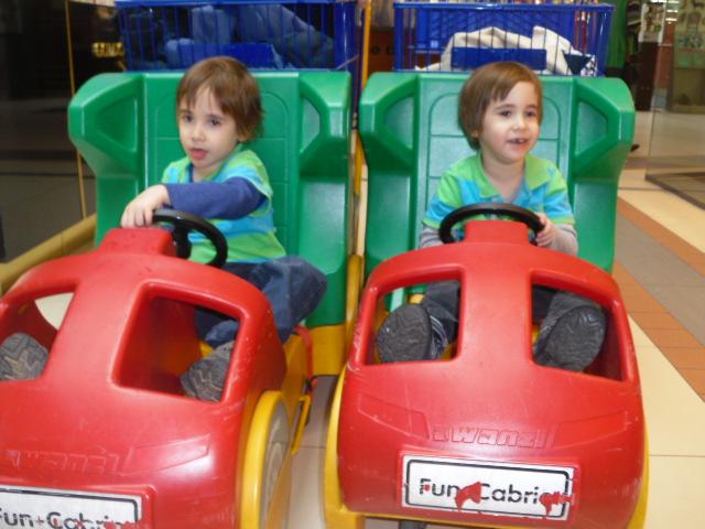 Sammy & Benji last visit, 18th Feb