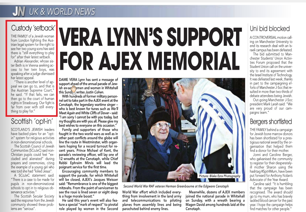 The Jewish News 14th November 2013