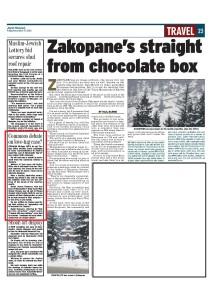 Jewish Telegraph 27th Dec 2013