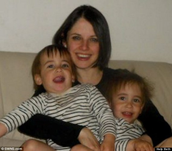 Beth Schlesinger has expressed concerns about her children's care