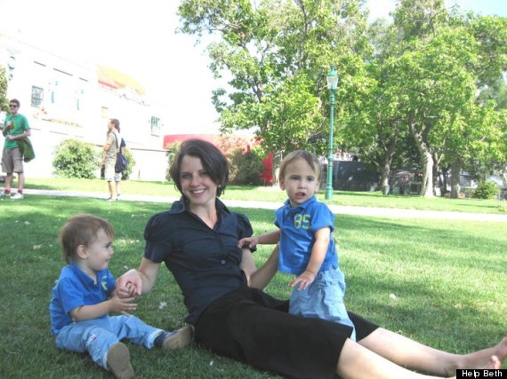 The twins are now four years old, but Ms Schlesinger says they cannot speak in full sentences