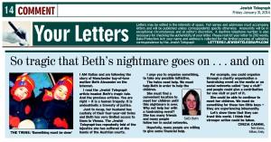 Jewish Telegraph 31st January 2014
